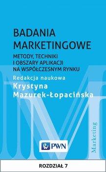 Badania marketingowe. Metody, techniki i obszary aplikacji na współczesnym rynku. Rozdział 7                      (ebook)