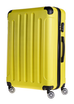 7c7e4e55cf425 Bagia, Walizka, Berlin, żółty, 102l - Bagia | Moda Sklep EMPIK.COM