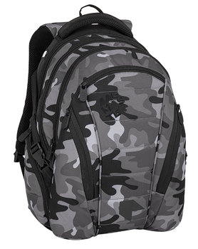 Bagmaster, plecak młodzieżowy, trzykomorowy, model BAG 8 CH-BAGMASTER