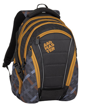 Bagmaster, plecak młodzieżowy, trzykomorowy, model BAG 8 E-BAGMASTER