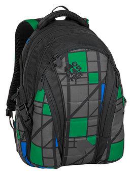 Bagmaster, plecak młodzieżowy, trzykomorowy, model BAG 8 H-BAGMASTER