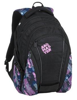 Bagmaster, plecak młodzieżowy, trzykomorowy, model BAG 9 A-BAGMASTER