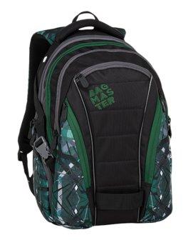 Bagmaster, plecak młodzieżowy, trzykomorowy, model BAG 9 E-BAGMASTER