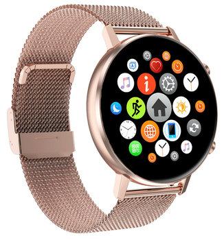 BAKEELY smartwatch, złoty-Bakeely