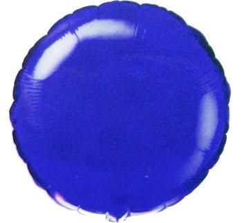 """Balon foliowy, 18"""", niebieski-Flexmetal"""