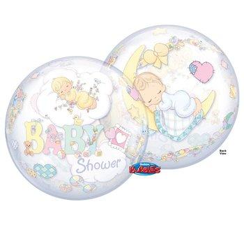 "Balon foliowy, 22"", Precious Moments Baby Shower"