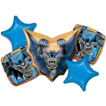 Balon foliowy, Batman, 5 sztuk-Amscan