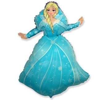 "Balon foliowy, Kraina lodu, księżniczka Elsa, 24""-Flexmetal"