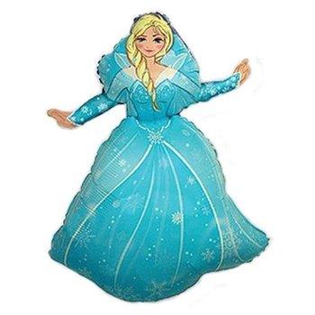 "Balon foliowy, Kraina lodu: Princess Elza, 14""-Flexmetal"
