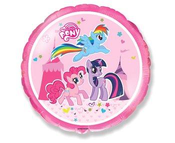 """Balon foliowy, My Little Pony, 18"""", różowy-Flexmetal"""