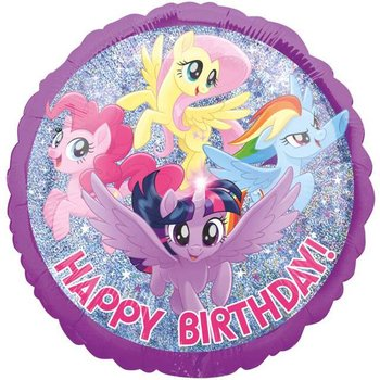 "Balon foliowy, My Little Pony, 18""-Amscan"