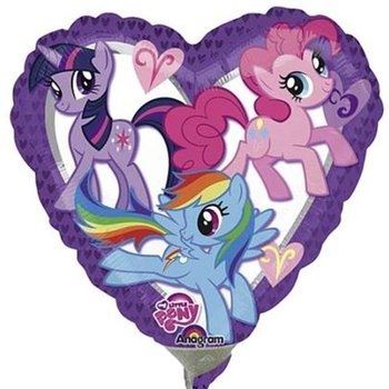 "Balon foliowy, My Little Pony, 9""-Amscan"