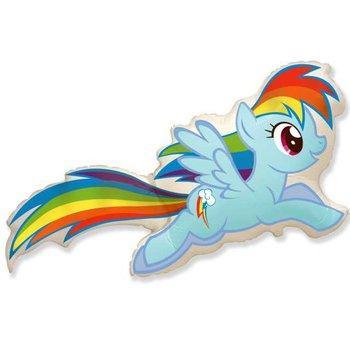 "Balon foliowy, My Little Pony: Rainbow Dash, 16""-Flexmetal"
