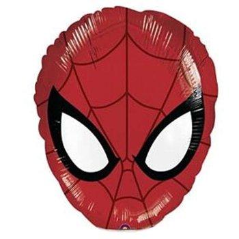 """Balon foliowy, Spiderman, 14"""", czerwony-Amscan"""