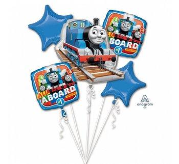 Balon foliowy, Tomek i przyjaciele, 5 sztuk-Amscan