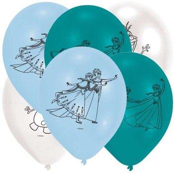 """Balony, Kraina Lodu, pastel mix, 9"""", 6 sztuk-Amscan"""