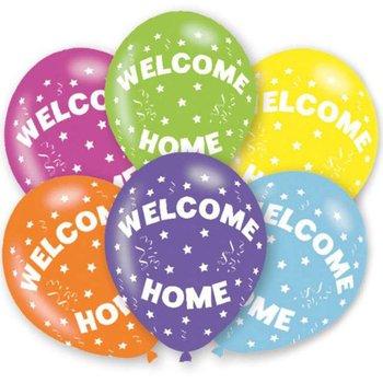"Balony,  Welcome Home, 11"", mix, 6 sztuk-Amscan"