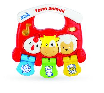 Bam-Bam, grzechotka muzyczna Zwierzęta-Bam Bam