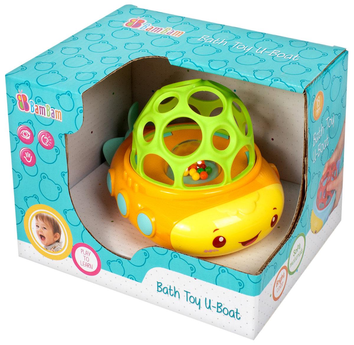 Bam-Bam, zabawka do kąpieli Łódka - Bam Bam