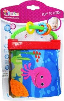 BamBam, zabawka edukacyjna ksiażeczka Zwierzęta morskie-Bam Bam