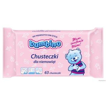 Bambino, Chusteczki dla niemowląt, 63 szt.-Bambino