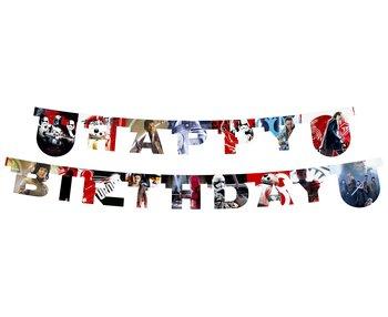 Banner, Happy Birthday, Star Wars