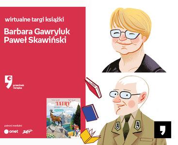 Barbara Gawryluk, Paweł Skawiński – PREMIERA | Wirtualne Targi Książki. Przecinek i Kropka
