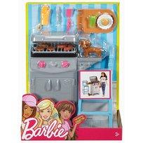 Barbie, akcesoria wypoczynkowe Zestaw do grilla