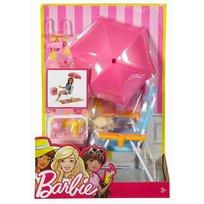 Barbie, akcesoria wypoczynkowe Zestaw plażowy