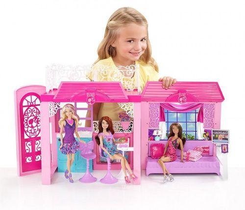 Barbie domek i lalka zestaw za barbie zabawki i gry - Maison de reve barbie ...