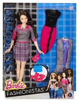 Barbie Fashionistas, lalka z ubrankami Chic with a Wink