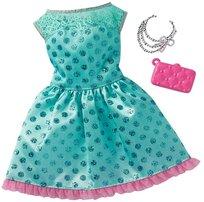 Barbie Fashionistas, Modne kreacje, Sukienka zielona