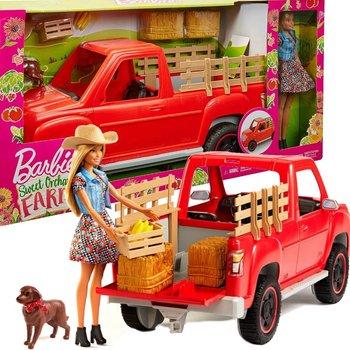 Barbie, lalka Farmerka, zestaw-Barbie