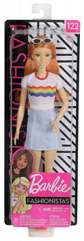 Barbie, lalka Fashionistas, FXL55