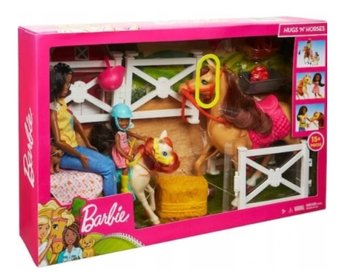 Barbie, lalka Stadnina koni Chelsea i kucyk