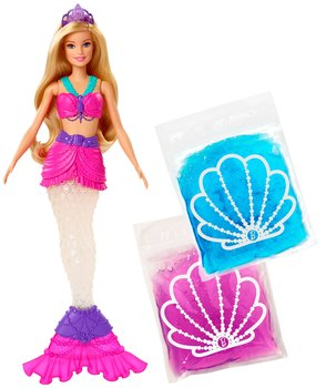 Barbie, lalka Syrena Brokatowy slime-Barbie