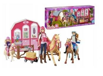Barbie, lalki w stadninie koni-Mattel