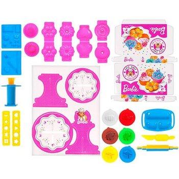 Barbie, zestaw kreatywny Masa plastyczna z paterą-Mega Creative