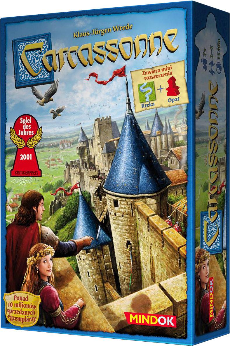 Znalezione obrazy dla zapytania carcassonne gra planszowa