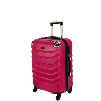Bardzo mała kabinowa walizka PELLUCCI RGL 730 XS Różowa - różowy-PELLUCCI