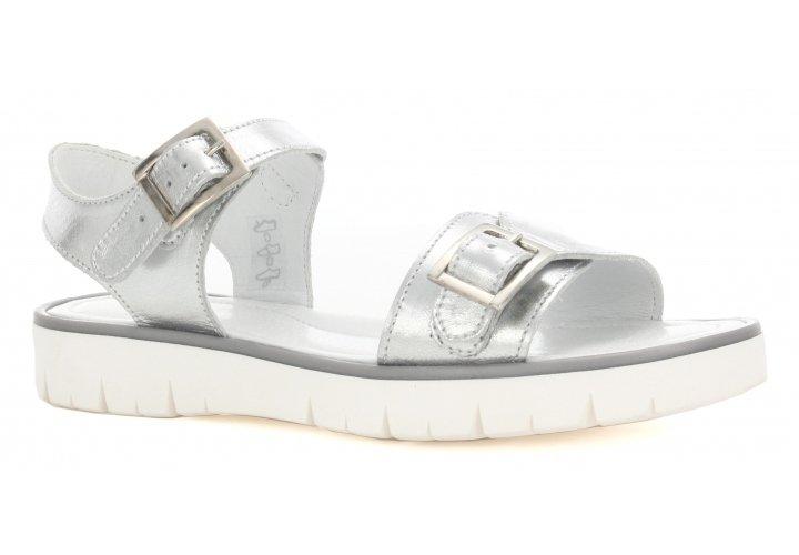 sandały srebrne bartek