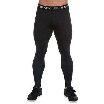 Bas Black, Legginsy męskie, Evergym, czarny, rozmiar S-Bas Black