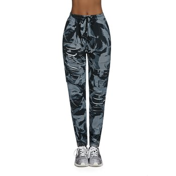 a5d8396b587816 Bas Black,Spodnie fitness damskie, Yank, szare, rozmiar XL - Bas ...