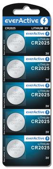 Bateria CR2025 EVERACTIVE, 5 szt.-EverActive