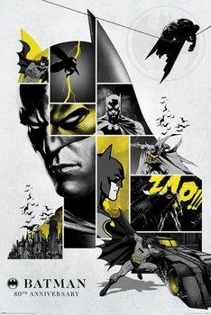 Batman 80th Anniversary - plakat 61x91,5 cm-Pyramid Posters