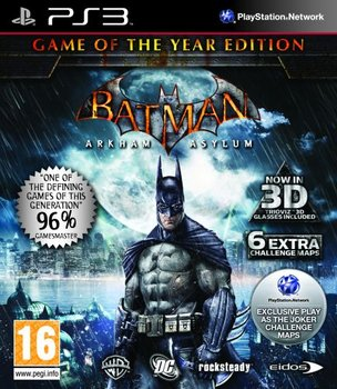 Batman: Arkham Asylum - Game of the Year Edition-Warner Bros