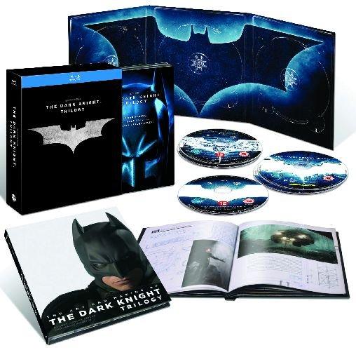Batman: Mroczny Rycerz. Trylogia (limitowana edycja kolekcjonerska z albumem)