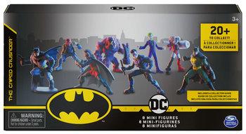 Batman, zestaw 8 mini figurek + przewodnik-Batman