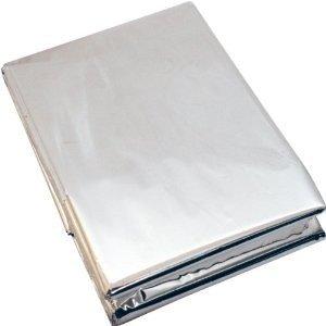 BCB, Folia termiczna, Emergency Foil Blanket CL041 (9796), srebrny-BCB