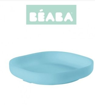 Beaba, Talerzyk silikonowy z przyssawką, Niebieski-Beaba